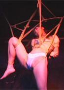 毒蟲緊縛舞台「発光人間」