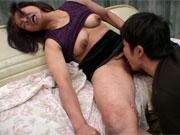 友達のお母さん 花村しず「おばさんが舐めてあげる」